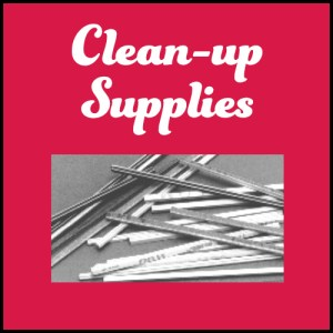 Clean-up Supplies