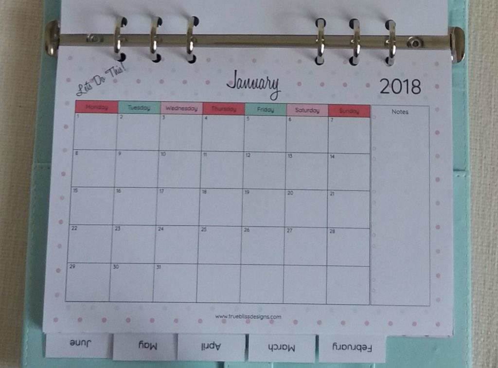 download your free 2018 monthly printable calendar now available in a4 letter and a5