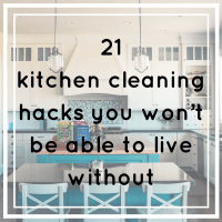 21 kitchen cleaning hacks you won't be able to live without