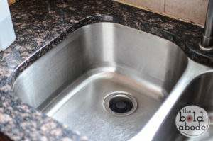 Find a step by step guide on how to make your stainless steel sink shiny and bright.