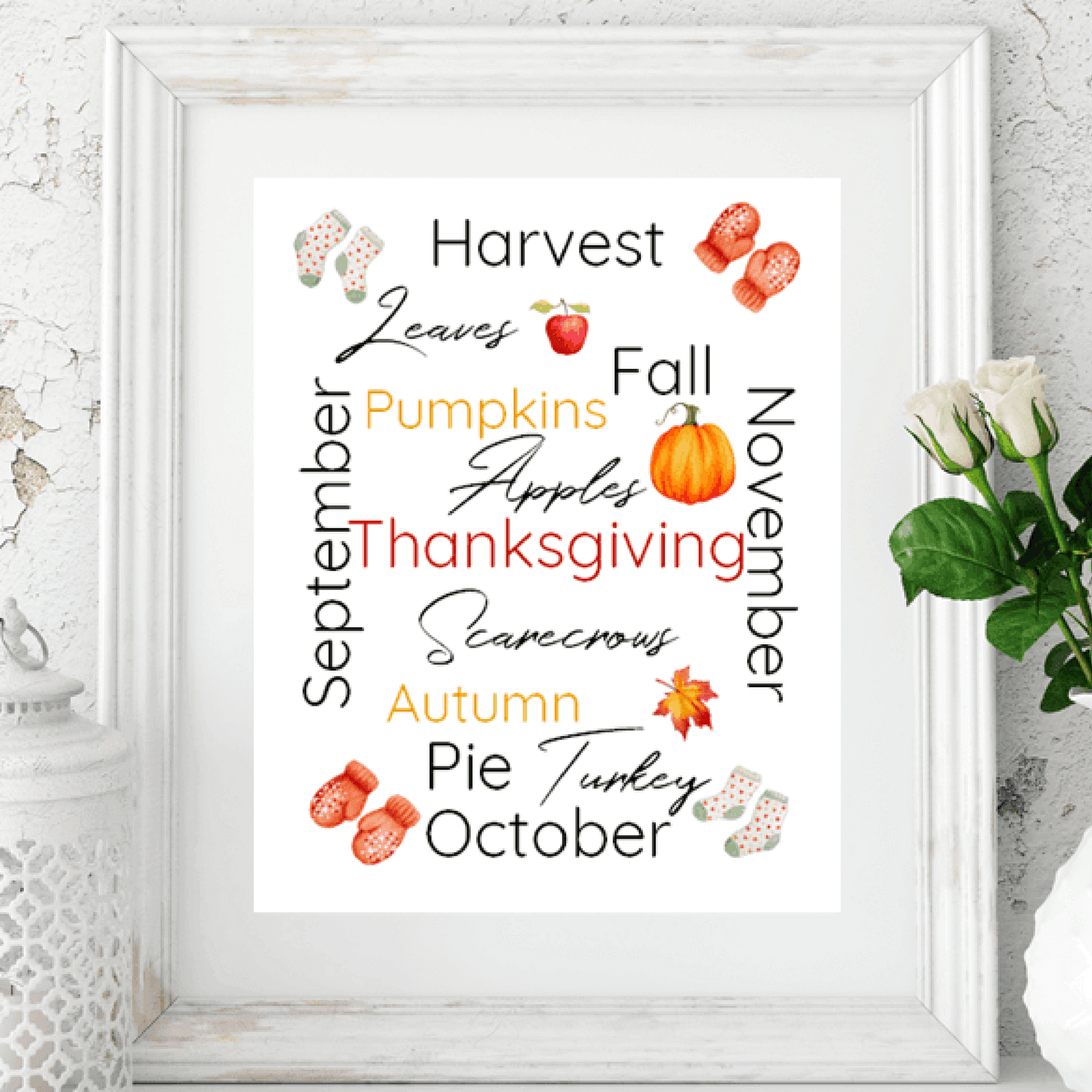 Click to download this free subway art printable for Autumn/Fall and celebrate the new season by giving your home some new decor – For more freebies, visit www.trueblissdesigns.com.