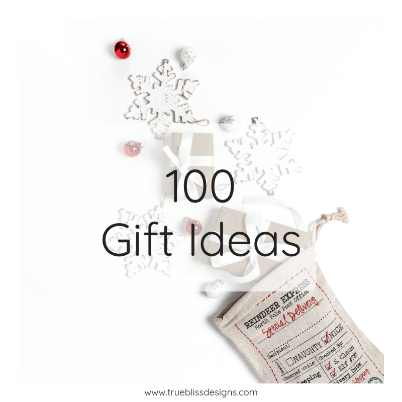 Make your search for Christmas gifts easier this year with this list of 100 gifts. The list is arranged by interest so you can find that unique gift that will suit everyone in your life. There is also a free printable gift list, available in 3 sizes, to help you stay organized.