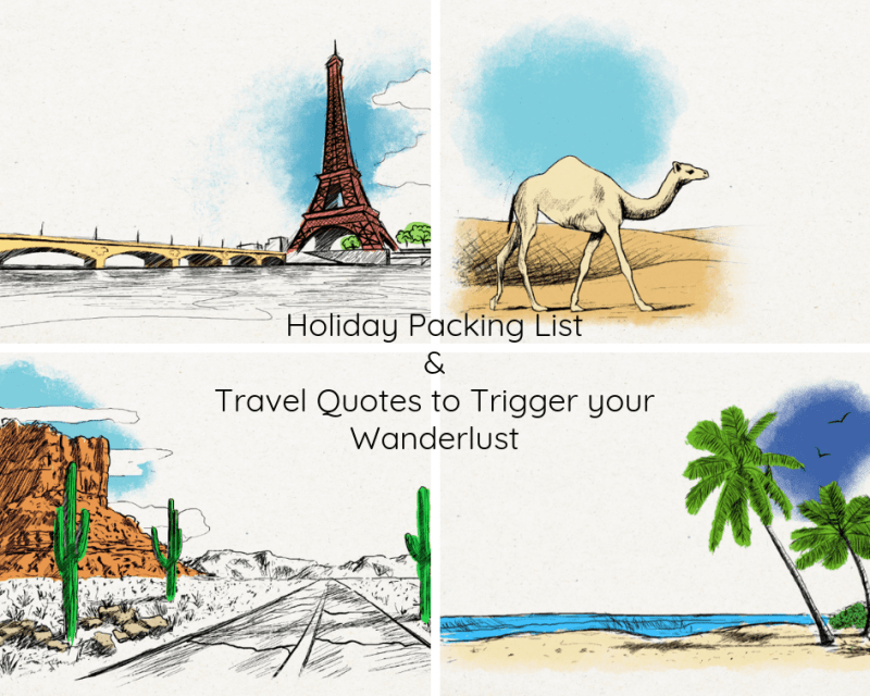 Whether you are planning summer, winter or weekend getaways, this travel checklist will help you so you don't forget the vital items you need to pack for your adventure. Download a free printable holiday packing list today. More printables at www.trueblissdesigns.com