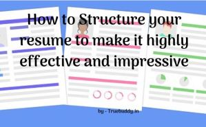 Structure of an effective resume