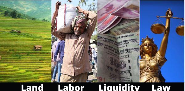 Land, Labor, Liquidity and Law