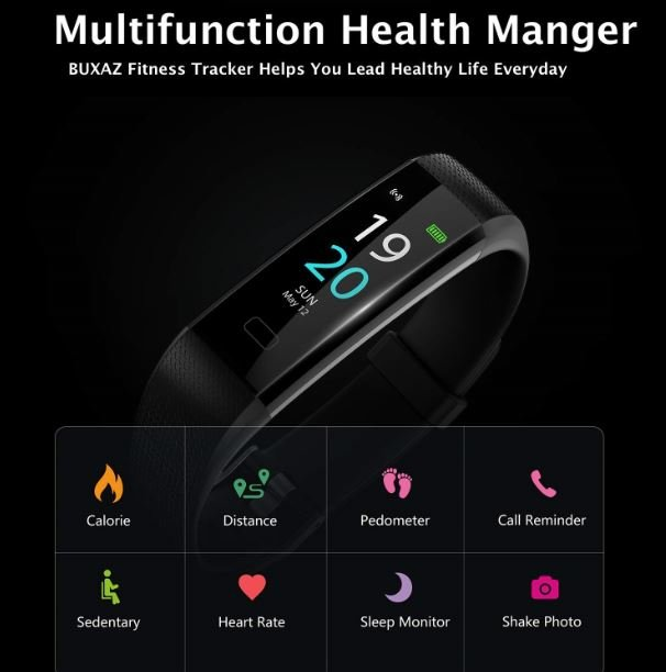 BUXAZ Fitness Band