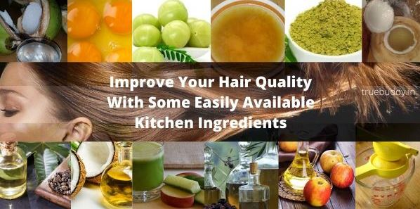Kitchen Ingredients For Long and Thick Hair