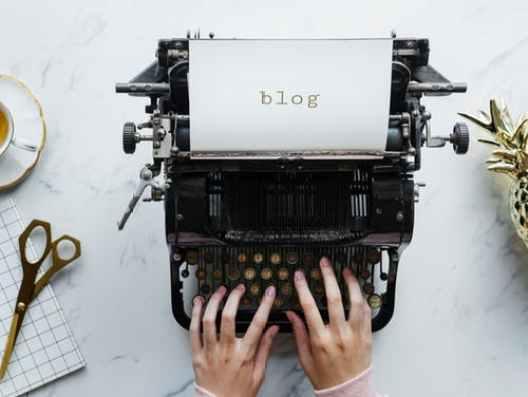 Blog writter