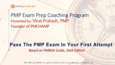 PMP Exam Preparation Training by PMCHAMP