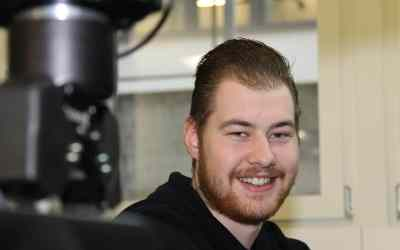 Congratulations. Philipp Meier – Electronics Engineer (EFZ) – Graduation