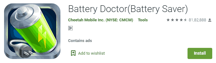 Battery doctor Battery  saver app for android
