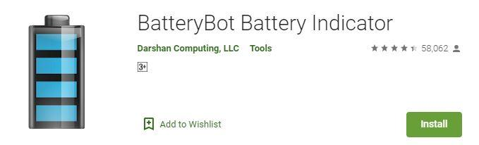 BatteryBot Battery saving app