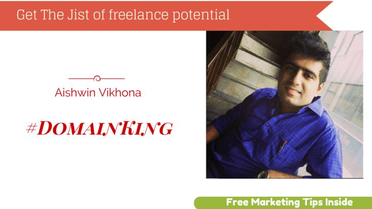 Aishwin Vikhona #DomainKing