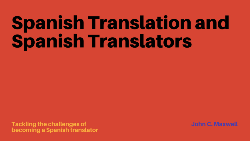 Spanish translators
