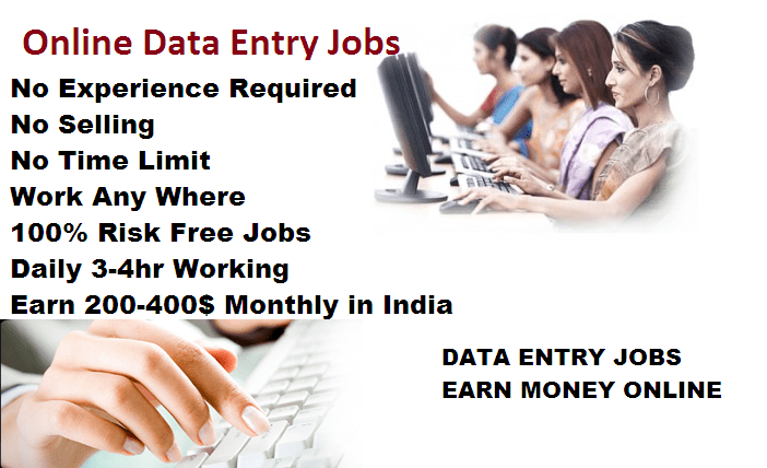 Data Entry Jobs Online