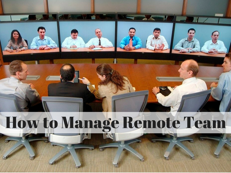 How to manage Remote Team