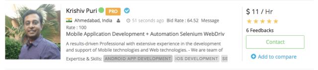 Krishiv Puri - Android Developer