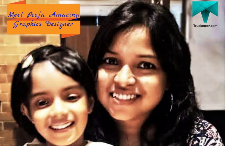 Pooja – An Amazing Graphics Designer and a Super Cool Mom