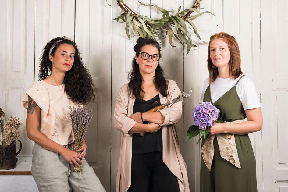 Un café con Yolinda- Entrevista a Las flores de Greta, Ecoprint –