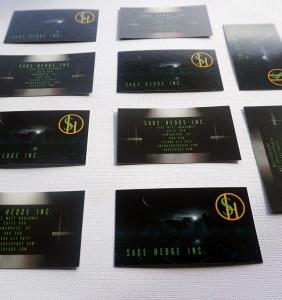 Sage Hedge Inc. Business Card