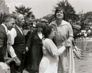 05 Aug 1922, Oakland, California, USA --- Oakland, California: Thousands Seek Healing At Baptismal Services. Mr --- Image by © Bettmann/CORBIS