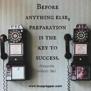 Before anything else, preparation is the key to success.