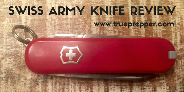 Swiss Army Knife Keychain