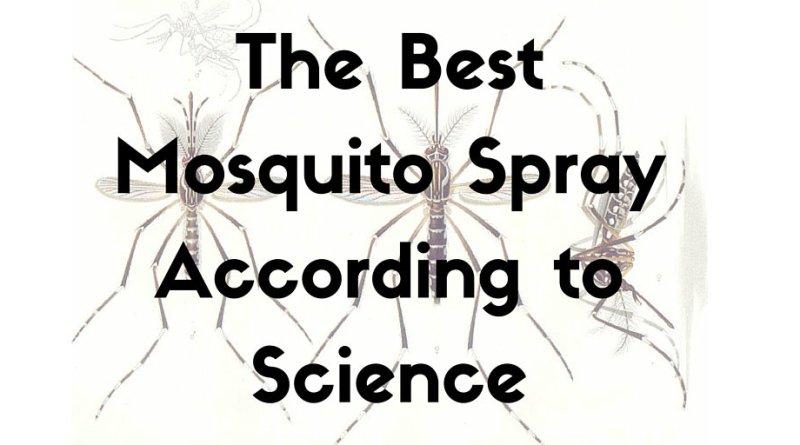Best Mosquito Spray