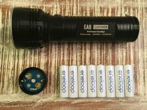 Caveman Flashlight Batteries