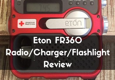 Eton FR360 Radio Charger Flashlight Review