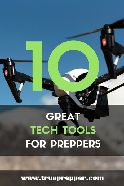10 Great Tech Tools for Preppers