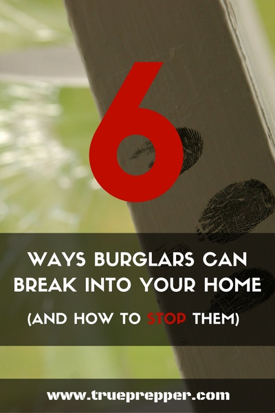 6 Ways Burglars can Break into your Home