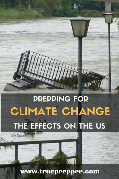Prepping for Climate Change: The Effects on the US