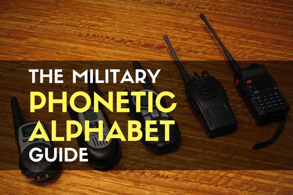 The military phonetic alphabet guide trueprepper altavistaventures Images