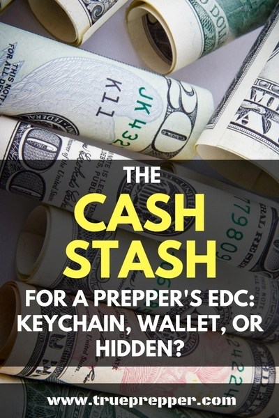 The Cash Stash for a Prepper's EDC: Keychain, Wallet, or Hidden?