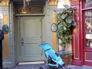Disney Club 33 Door