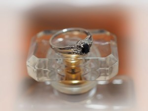 """Our """"classic"""" ring shot - this time with the perfume bottle"""