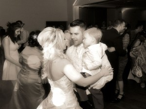 An intimate family moment captured perfectly.