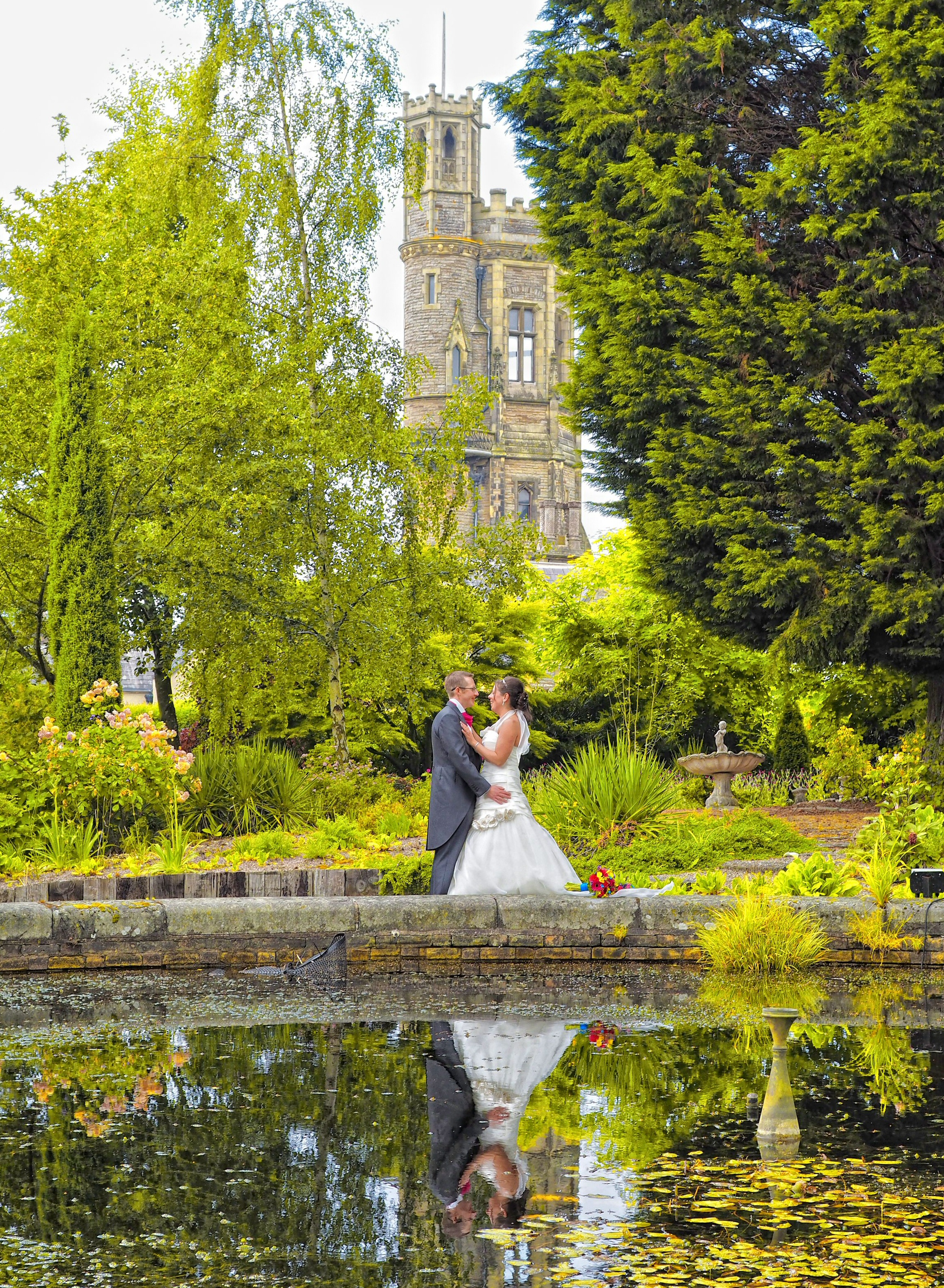 Stunning shropshire wedding photography