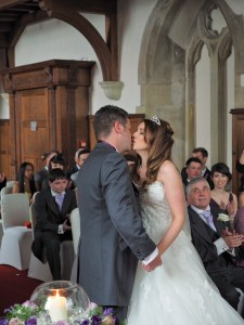 You may kiss your bride!