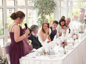 Top table during the speeches