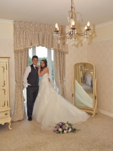 Another of our popular shots in the bridal suite