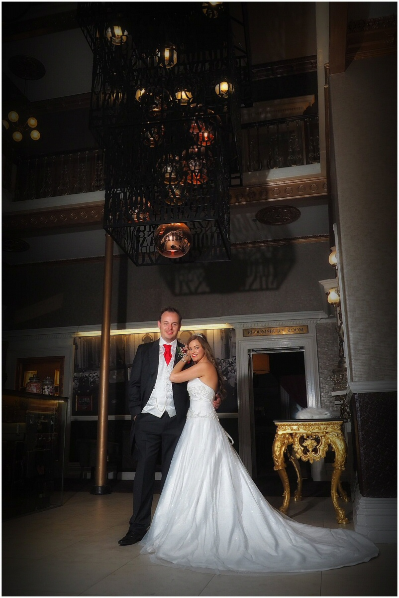recommended wedding photographer for a wedding at Queens Hotel