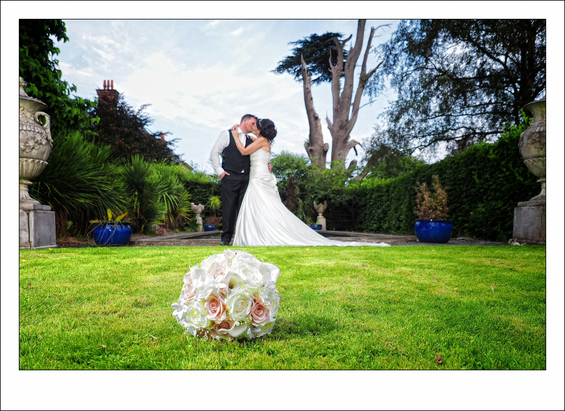 Wedding photography at Trevor Hall near llangollen