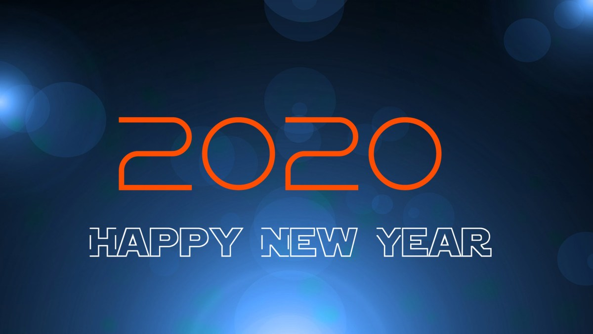 2020 Happy New Year Images for Desktop