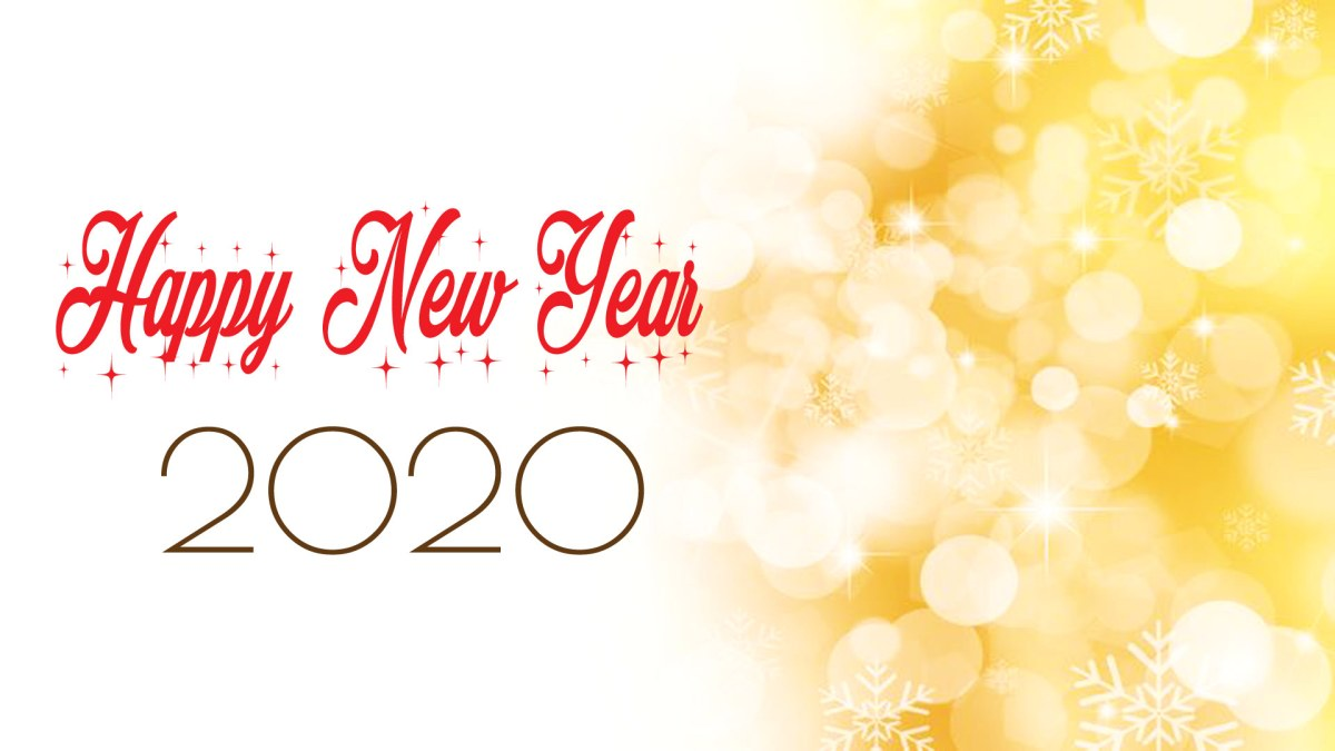 Happy New Year 2020 Background Photo