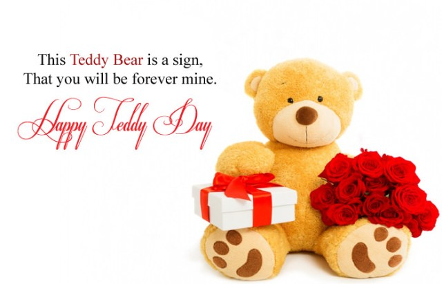 Happy Teddy Day Images in English - Cute Happy Teddy Day Images for Whatsapp