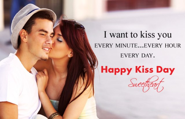 Kiss Day Quotes for Girlfriend