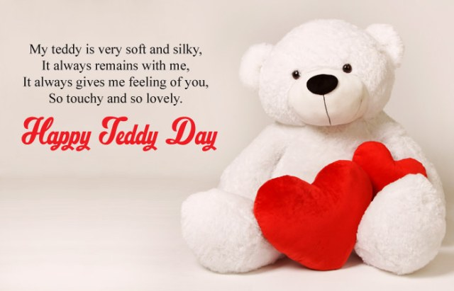 Teddy Day Wishes - Cute Happy Teddy Day Images for Whatsapp