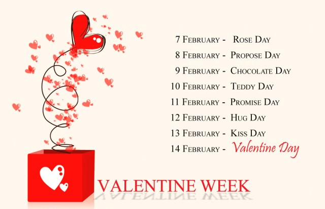 Valentine Week 2021 with Dates | Full List February Days 7th to 14th Feb